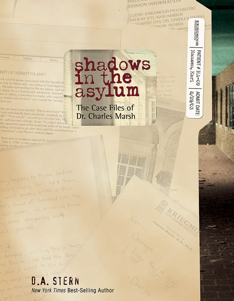 Shadows in the Asylum front cover